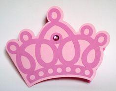 Convite em formato de coroa