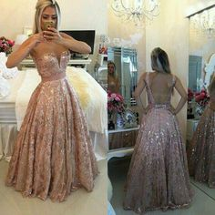 Gold rose. In lovee with this dress