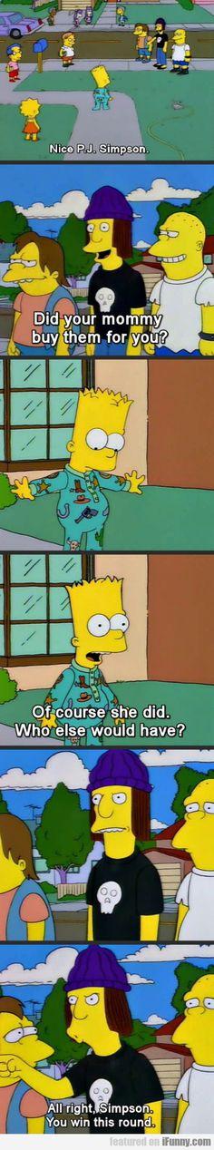Nice Pjs Simpson...