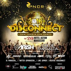 PNCR ENT x ON20 Bar & Dining Proudly Present  Full Line up for #DISCONNECT  Let's join the highest glamorous party at ON20. Celebrate and Countdown the night changes with special DJ performance by @goldiemrld and @harishfadhil and big names of local heroes.  Make sure you don't miss this epic party. For more Information and RSVP, pls call +62411 362-0800 or check @on20makassar & @panaicera_ account.  #on20makassar | on20makassar.com