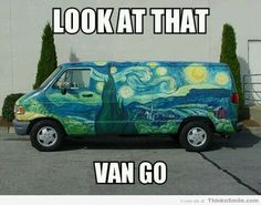 Let's Gogh for a Drive