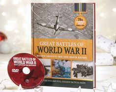 Great Battles Of WWII 70th Anniversary Book And DVD £15 240 page chronological introduction to 28 of the most important actions of World War II, including Dunkirk, Battle of Britain, Pearl Harbor, Iwo Jima and the D-Day landings. 70th anniversary edition. COLLECTION/DELIVERY FROM ABERDEEN OR DIRECT DISPATCH VIA PAYPAL/CARD PAYMENT (£3.95 delivery) PM/COMMENT FOR DETAILS.