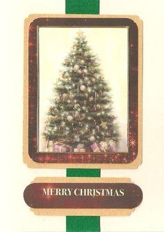 Handmade Christmas Card - Kanban