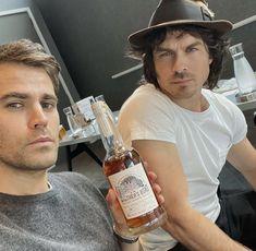 Cute Funny Baby Videos, Some Funny Videos, Whiskey Bottle, Vodka Bottle, Vampire Diaries Cast, Stefan Salvatore, Paul Wesley, Ian Somerhalder, Photo Dump