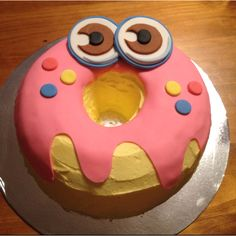 My Oddie moshi monster cake :)