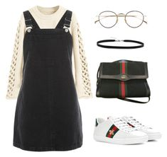 """""""Chic nerd"""" by pri-smeltzer on Polyvore featuring Topshop, Gucci, Derek Lam and BillyTheTree"""