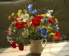 Цветы ручной работы - Лето навсегда.