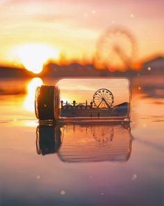"""""""The right perspective Makes the impossible Possible."""" Photo via: Sunset Wallpaper, Landscape Wallpaper, Scenery Wallpaper, Cute Wallpaper Backgrounds, Pretty Wallpapers, Miniature Photography, Cute Photography, Creative Photography, Landscape Photography"""