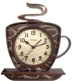 10 Whimsical Clocks Inspired by Coffee - CoffeeSphere