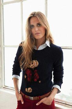 2afebc5723ad Ralph Lauren Vintage Denim, Vintage Sweaters, Preppy Outfits, Preppy Style,  Preppy Wardrobe