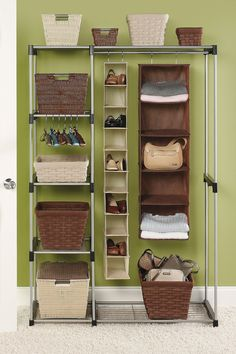 Freestanding Double Rod Closet