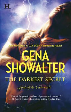 Cover for THE DARKEST SECRET, a Lords of the Underworld novel.