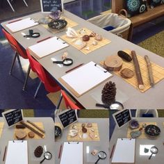 Those who are familiar with the Reggio Emilia philosophy of education know the emphasis it puts on the physical environment of the classroom. Kindergarten Inquiry, Inquiry Based Learning, Kindergarten Centers, Learning Centers, Early Learning, Science Area, Preschool Science, Kindergarten Classroom, Science Fun