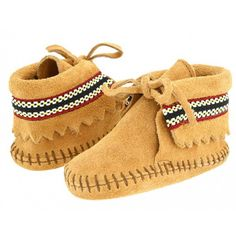 Little Fashion Gallery loves Minnetonka braid bootie slipppers ! for my grand babies