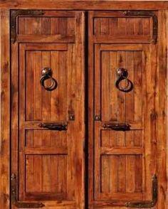 Portones clásicos de madera | Tendencias - Decora Ilumina