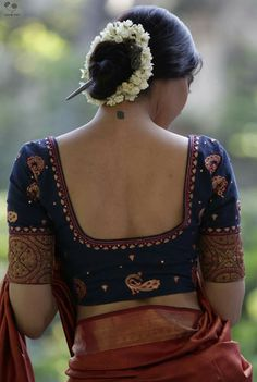 blouse designs latest 6 Indian Blouse Designs That Make For Perfect Bridal Inspiration For You, Straight Off The Runway Indian Blouse Designs, Traditional Blouse Designs, Saree Blouse Neck Designs, Fancy Blouse Designs, Bridal Blouse Designs, Blouse Designs Embroidery, Latest Blouse Neck Designs, Choli Designs, Saree Blouse Patterns