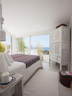 dormitorio con TOQUES ETNICOS