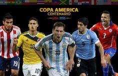 Los 10 jugadores más costosos de la Copa América Centenario 2016