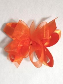 Large Sheer Satin Bow, more colors available