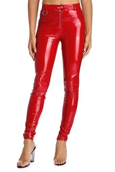 44b674bc7da55 Nothing Serious Liquid Leggings Vinyl Leggings, New Years Eve Outfits,  Windsor Store, Skinny