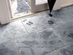 Black Flagstone Tiles - Cathedral Limestone