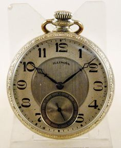 Reloj lepine ILLINOIS circa 1926