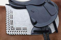Manifattura Valor | Algund Felted Wool Saddle Pad