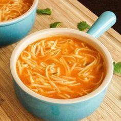 Sopa de Fideo- Mexican Noodle Soup
