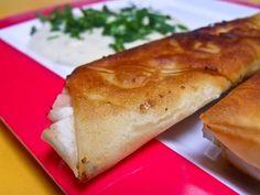 Veganitäten» Blog Archive » Sigara Börek mit Tofu-Schafskäse, Spinat und Joghurtsoße