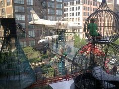 """This crazy/amazing playground is called """"Monstrocity."""" It's at the City Museum in St. Louis, MO."""