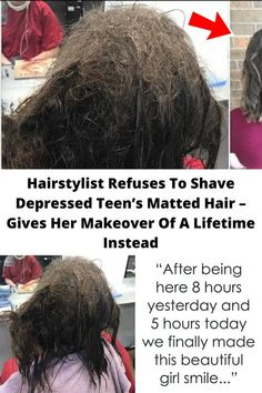 #Hairstylist Refuses To #Shave #Depressed Teen's Matted Hair – Gives Her #Makeover Of A #Lifetime #Instead Crazy Funny Memes, Wtf Funny, Hilarious, Funny Humor, Funny Tweets, Funny Prank Videos, Funny Pranks, Best Joker Quotes, Coachella Hair