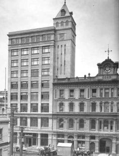 The historic Auckland Star building was demolished