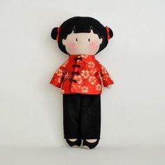 Image of My Teeny-Tiny Doll® Lei-Lei - OOAK