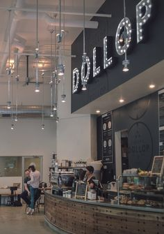 Dollop Store interior by Firebelly Design