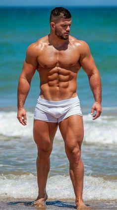 🏳️🌈Much more fun: Twitter: @lazyfireoperat1 (Menlover 😍) www.lazyfireoperatorhumanoid.tumblr.com 🏳️🌈 Muscle Boy, Muscle Hunks, Muscle Beach, Hot Beach, Beach Babe, Beefy Men, Gym Body, Hommes Sexy, Paisajes