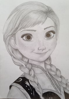 My princess anna drawing from frozen