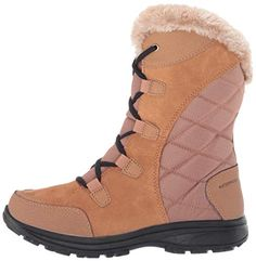 Columbia Women's Ice Maiden II Snow Boot - Shoosly Snow Boots, Winter Boots, Columbia, Booty, Leather, Fashion, Moda, Snow Boots Outfit, Swag