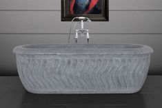 Tivoli white marble bath tubs from our brass Tivoli range. Marble Bath, Black Marble, Baths