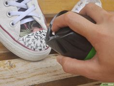 3 Ways to Decorate Converse Shoes - wikiHow