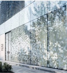 Image 2 of 8 from gallery of Shang XIA / Kengo Kuma & Associates. Photograph by kengo kuma & associates Fritted Glass, Facade Pattern, Retail Facade, Facade Architecture, Natural Architecture, Ancient Architecture, Sustainable Architecture, Landscape Architecture, Displays