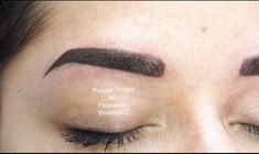 Powder Brows : Powder Brows bei Permanent BeautyArt in Luzern Anti Aging, Brows, Powder, Make Up, Beauty, Board, Natural Looks, Lucerne, Nail Studio