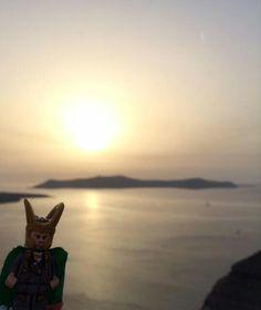 Lego Loki - Santorini - Greece - Sept 2015