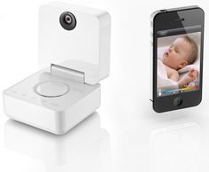 smart baby monitor also takes pictures to your iphone