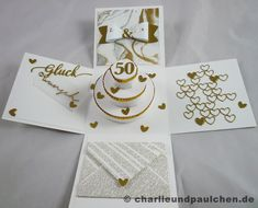 Es gibt tatsächlich Menschen, die 50 Jahre verheiratet sind! Respekt! Ich wäre bei meiner goldenen Hochzeit 81 und würde mich natürlich über...