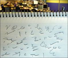 The most popular shorthand tutorial on the net, thousands of students are learning shorthand every month. Get the basics for free then master the impressive art of teeline shorthand speed writing. Shorthand Alphabet, Shorthand Writing, Study Help, Study Tips, Ways Of Learning, Kids Learning, Pitman Shorthand, Speed Writing, New Academy