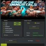 Download free online Game Hack Cheats Tool Facebook Or Mobile Games key or generator for programs all for free download just get on the Mirror links,Rage of The Immortals Hack Free Download The Game Info: Create a super powered team of fighters from all over the world and get ready for battle in Rage of