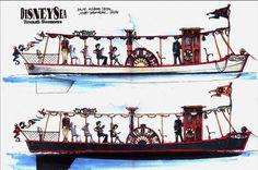 DisneySea Transit Steamer, Tokyo DisneySea - Scott Sherman