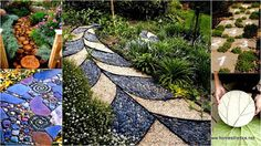 Do it Yourself Landscaping Ideas: DIY GARDEN WALKWAY PROJECTS INSPIRATION FOR THIS SPRING