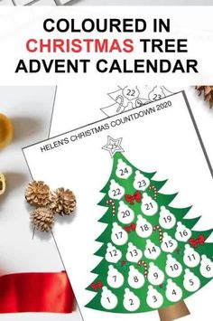 Buy this Printable Christmas countdown calendar for your kids that will bring a big smile in their face on this Christmas. Check it out!