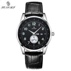 73eaa7350 SENORS Dámské hodinky Top značky Luxusní móda Luxusní šaty Světelné hodinky  Příležitostné křemenné Wirstwatchy Hodinky Hodinky